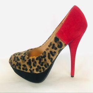 Bamboo heels sz 7